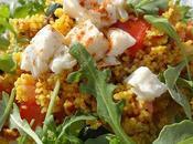 Salade semoule légumes soleil