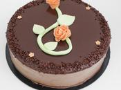 Bavarois chocolat abricot