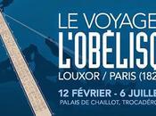 Louxor Concorde, voyage d'Obélisque