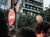 Pendentif, Rocky, Odezenne Griefjoy pour fête musique parisienne, place Denfert-Rochereau