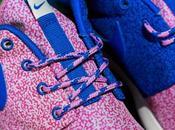 Nike wmns Roshe Print White Cobalt Magenta