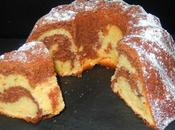 Cake chocolat crème citron (lemon curd)
