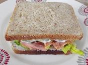Sandwich saumon crudités façon