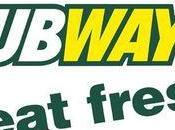 Subway plie devant medias sociaux