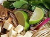 Soupe hoisin végétarienne