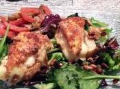 Salade croûtons reblochon pané