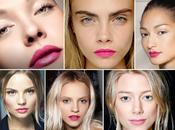 Inspiration makeup naturel lèvres fuschia