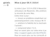 Apple 10.9.4 Safari 7.0.5 disponibles