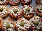 Mini pizzas frit