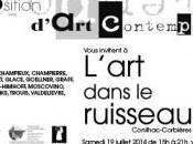 18ème exposition l'Art dans ruisseau Conilhac-Corbières, Aude
