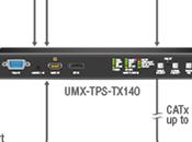 série UMX-TPS-TX100 LIGHTWARE