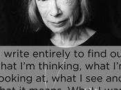 Joan Didion & l'écriture: elle muses,