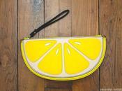 envies pochette citron Look