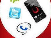 Viber+Whatsapp+Skype, avec vraies communications, c'est VoxOx