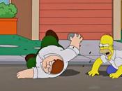 Griffin s'invitent chez Simpson