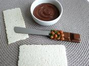 tartinade diététique sans gluten chocolat lait stévia beurre sucre (riche fibres seulement calories)
