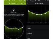 Spotify ajout d'un égaliseur iPhone iPad