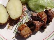 Brochettes poulet marinées
