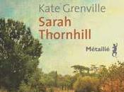 Sarah Thornhill Kate GRENVILLE