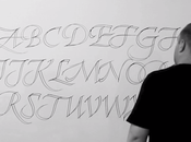 Exercice calligraphie