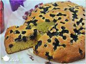 Gâteau moelleux myrtille