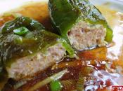 Piments verts grillés farcis Sichuan niàng qīngjiāo