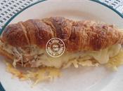 Croissant thon