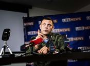 UKRAINE. Donbass (Donetsk): propos d'Alexandre Zakharchenko déformés