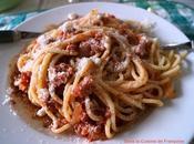 Spaghettis l'Amatriciana
