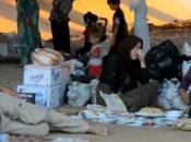 Irak Dohouk Khanik submergées familles fuyant combats dans nord pays