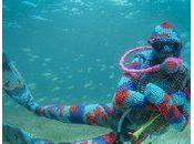 Combinaison plongée tricotée