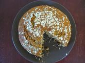 Gâteau yaourt flocons d'avoine