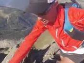 Kilian l'alpiniste l'Aiguille Chardonnet