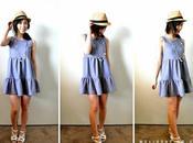 robe d'été volants