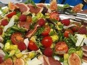 Salade gasconne d'été figues