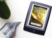 Survivant, James Herbert. réchappé d'un crash d'avion combat forces mal.