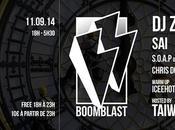 Boom Blast Zinc, Sai, Taïwan S.O.A.P, Chris Dogzout Iceehot (2×2 places gagner)