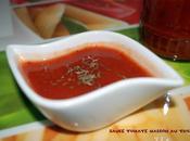 Sauce tomate maison thym