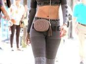 Rihanna total look Alexander Wang H&M...