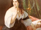 Omer Charlet. Femme chevet enfant mort. Musée Rochelle.