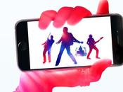 Pour fêter présentation nouveaux iPhone nouvel album offert Apple