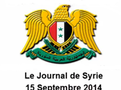 VIDEO. Journal Syrie 15/09/2014. Damas bloque route livraison d'armes l'EI