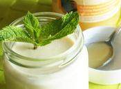 Yaourt menthe/miel citronnier