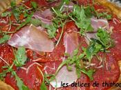 Tarte feuilletée tomate
