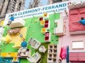 IKEA France installe Clermont-Ferrand d'escalade géant l'effigie d'un appartement