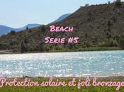 Beach serie Protection solaire joli bronzage avec Soleil îles