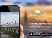Yahoo Météo iPhone rajoute animations