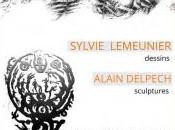 Exposition Ombres lumières Sylvie Lemeunier Alain Delpech galerie Concha Nazelle