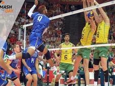 L'équipe France reprise volley demi-finale