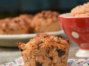 Muffins coings noisettes chocolat